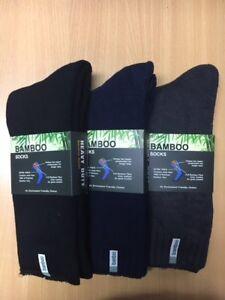 6-Pairs-Premium-Thick-92-Bamboo-Work-Heavy-Duty-Sock-6-11-11-14-Black-Blue-Grey