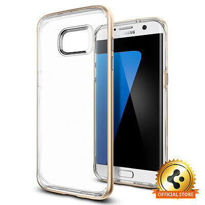 Spigen® Samsung Galaxy S7 Edge [Neo Hybrid Crystal] Shockproof Case TPU Cover