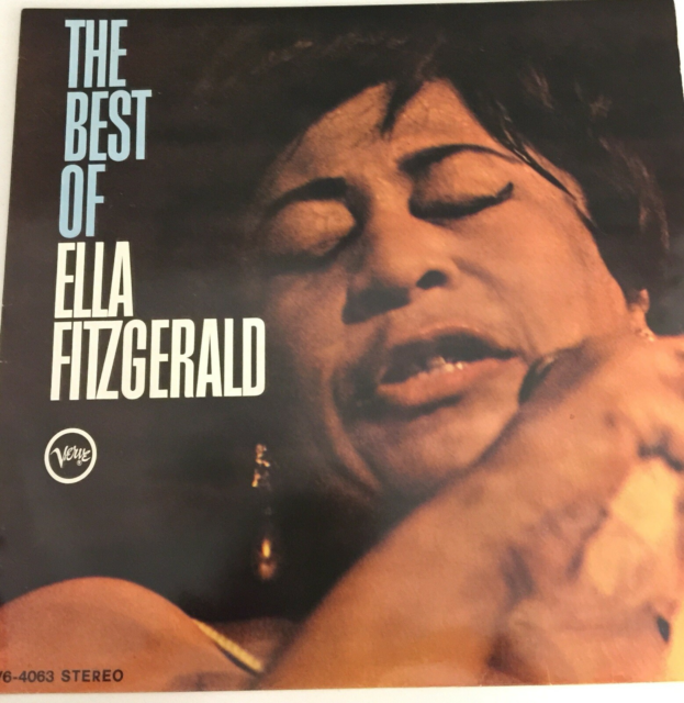 LP, Ella Fitzgerald, The Best of, Jazz