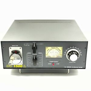 1 8 30mhz 1500w Hf Ham Radio Antenna Tuner Du1500l Ebay
