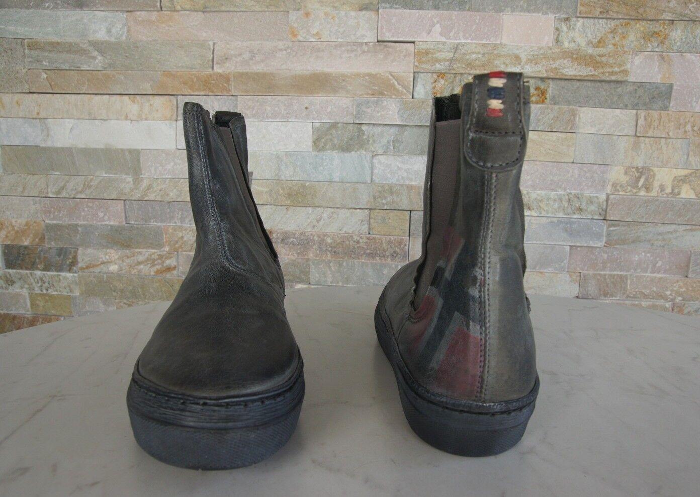 NAPAPIJRI Gr 37 Stiefeletten Fiona booties Fiona Stiefeletten Schuhe schwarz grau NEU ehem 16402c