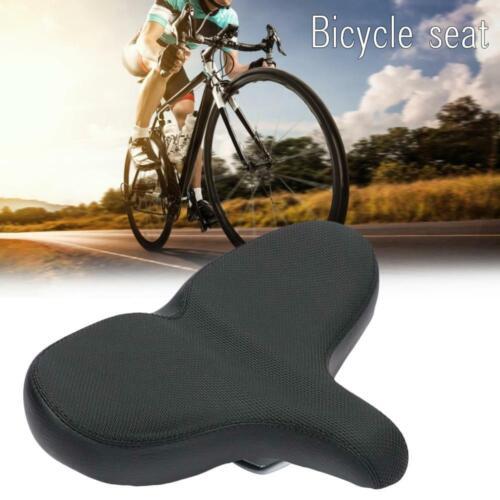 Extra Wide Bicycle Seat Bike Saddle Beach Cruiser Exercise Cushion Saddle