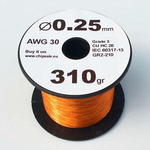 1 mm 18 AWG Gauge 310 gr ~42 m Magnet Wire Enameled Copper Coil 0.7 lb
