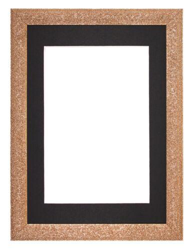 Stardust Range Picture Photo Frame Poster Frames Decor Mounted  Rose Gold Black