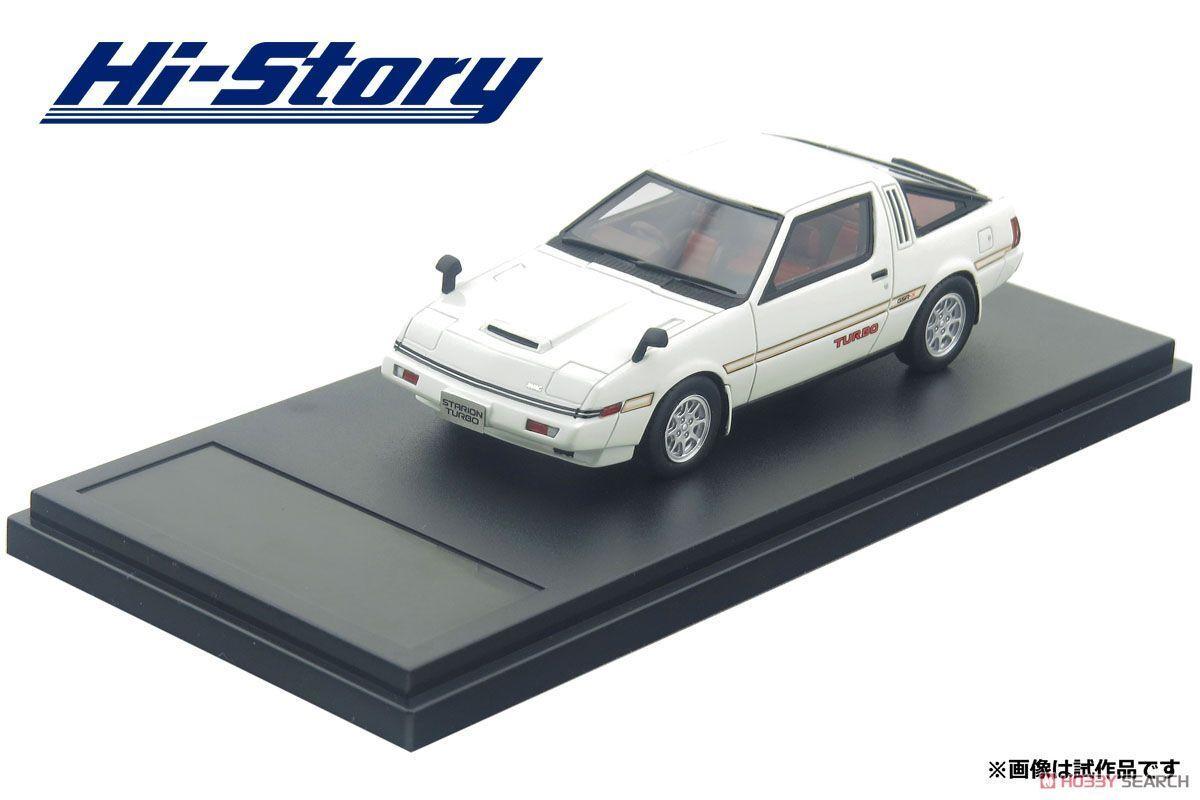 1/43 Hi-Story MITSUBISHI STARION TURBO 2000 GSR-X (1982) White HS174WH