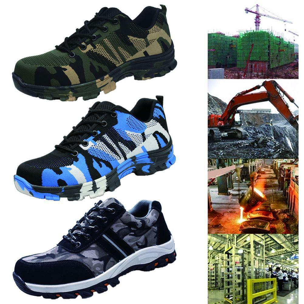 Men Indestructible Bulletproof Ultra X Predection Work Labor Steel Toe shoes MZ
