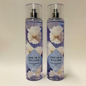 2-Bath-amp-Body-Works-One-In-A-Million-Fine-Fragrance-Mist-Set-8-fl-oz-236-ml