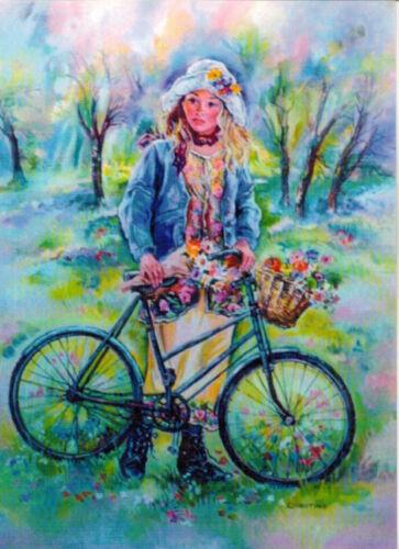 Christine Haworth  /' children /' modern Rare new postcard