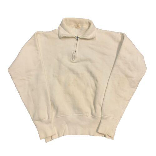 Vintage 50s Sportswear quarter zip sweatshirt