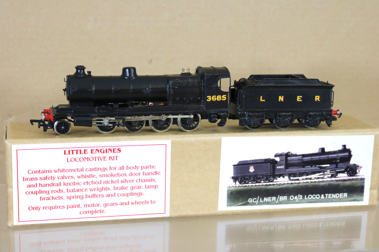 LITTLE ENGINES KIT BUILT LNER Ex GC BR 2-8-0 CLASS 04 3 LOCO 3685 BOXED ng
