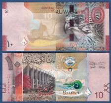 KUWEIT / KUWAIT 10 Dinars ( 2014 ) UNC  P. 33