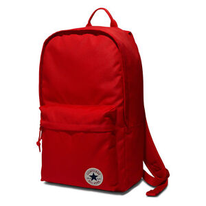 89b8a3634624 Image is loading CONVERSE-NEW-Mens-Red-Converse-EDC-Poly-Backpack-