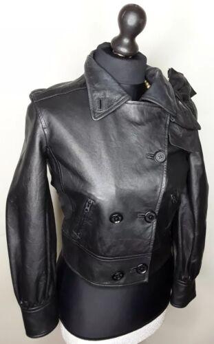 taille Armani Veste Exchange S femme simili cuir 100 SqU6Y