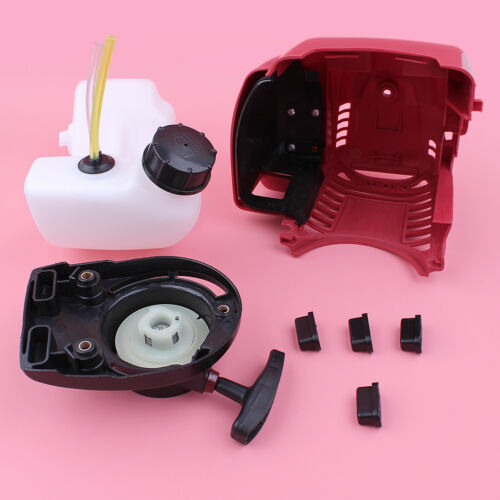 Top Cylinder Cover Starter Fuel Tank Kit For Honda GX35 GX35NT HHT35S Lawn Mower