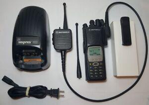 MOTOROLA-XTS5000-700-800-MHz-P25-Digital-Police-Fire-EMS-RADIO-H18UCH9PW7AN-XTS