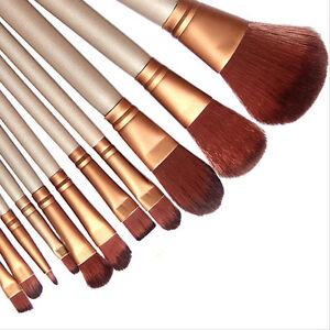 Pro-Makeup-12pcs-Brushes-Set-Powder-Foundation-Eyeshadow-Eyeliner-Lip-Brush-Tool
