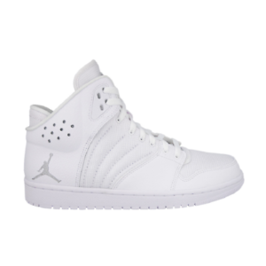 Nike Air Jordan 1 Flight 4 All White Scarpe da Pallacanestro Basket 820135 100