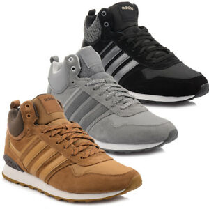 neu schuhe adidas 10xt wtr mid herren sneaker turnschuhe winterschuhe stiefel 42 ebay. Black Bedroom Furniture Sets. Home Design Ideas