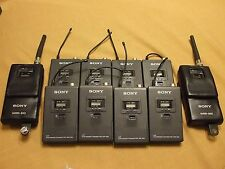 Sony Wireless Microphone System, WRR 810A, WRT 820A