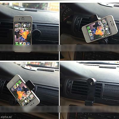 Car Air Vent Holder Mount Support for iPhone 4/4S 6 5S LG Galaxy S4 S5 HTC One M