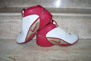 51405fb2a3890 Nike Flight Zoom Air White   Red Shoes 030608 Y3 Size 8 30744999100 ...