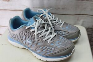 Easy-Spirit-360-10-m-Blue-Gray-Sneakers-Women-039-s-Shoes