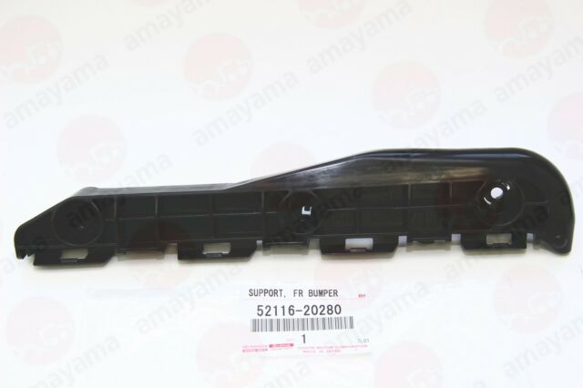 GENUINE TOYOTA 03-05 4RUNNER LEFT DRIVER FRONT BUMPER SIDE SUPPORT 52116-35090