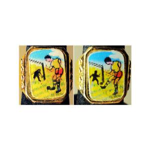 1960-039-s-Soccer-Gumball-Flicker-Ring-Prize-Adjustable-Metal