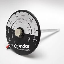 Catalytic Thermometer for Woodstoves (3-12)