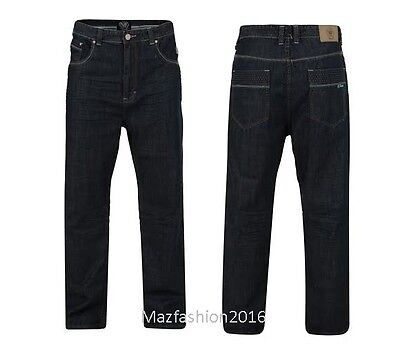 NEW MENS KAM RONEN RELAXED FIT JEANS COMFORT FIT 40-60 SHORT REG LONG