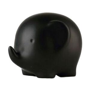 Modern Ceramic Elephant Statue Creative Decor Ornament Birthday Gift