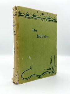The Hobbit – FIRST EDITION – 1958 10th Printing – TOLKIEN 1937 Lord of the Rings