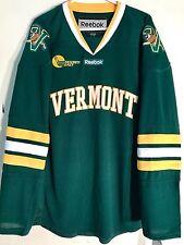 REEBOK Premier NCAA Jersey Vermont Catamounts Team  Green Alt 3rd sz S