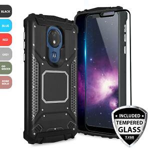 For Motorola Moto G7 Power G7 Supra G7 Optimo Maxx Metal Magnetic Support Case Ebay