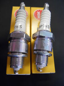 Coppia-Candele-NGK-BP7HS-per-FIAT-500-R-e-FIAT-126