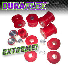 BMW E36 REAR SUBFRAME BUSHES & DIFF Mounts -RED Duraflex EXTREME PU