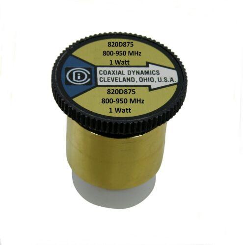 801-1 Wattmeter Element Slug 1W 800-950 MHz for Bird 43 Coax Dynamics 820D875