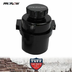 Proflow-Black-Billet-Remote-Reservoir-Brake-or-Clutch-Master-Cylinder-Tank-New
