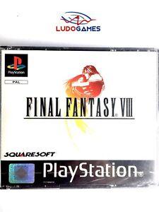 Final-Fantasy-8-Psx-PS1-PLAYSTATION-Neuf-Scelle-Retro-Scelle-Nouveau-Pal-Spa