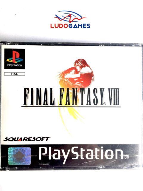 Final Fantasy 8 PSX PS1 Playstation Nuevo Precintado Retro Sealed New PAL/SPA