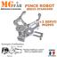 miniatura 4 - Kit pince robot métal alu 2 DOF   Gripper robotique MG995 Arduino PIC ARM STM
