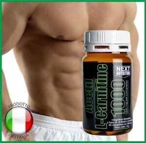 Acetil-L-Carnitina-1000mg-Dimagrante-Bruciagrassi-Efficace-Dieta-60-compresse