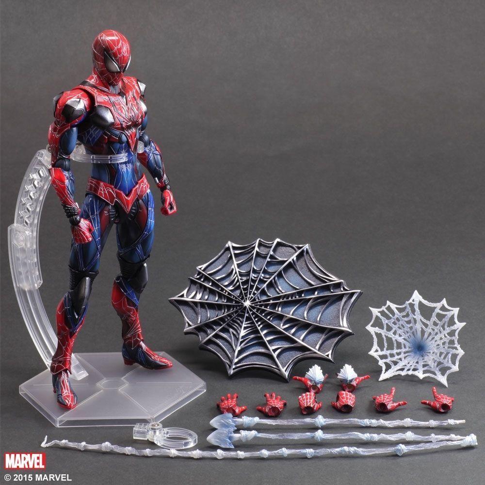 Square Enix Spiderman acción figura Jugar Arts Kai Figura De Acción De Spider Man