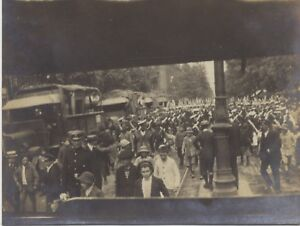 Paris-The-parade-of-the-14-july-1919-Three-3-small-Photo-Scapshot-Vintage