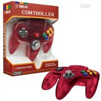 Watermellon Clear Red Controller Control Pad Gamepad For N64 Nintendo 64