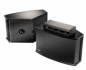 new bose 901 series vi speakers direct reflecting black ebay. Black Bedroom Furniture Sets. Home Design Ideas