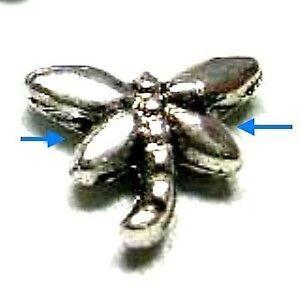 50-pieces-Tibetan-Silver-Dragonfly-Alloy-Beads-A0217