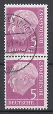 BRD 1954 Mi. Nr. 179 senkrechtes Paar gestempelt (18298)