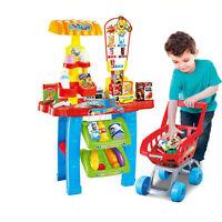 31 Piece Kids Supermarket Children Role Play Superstore With Light & Sound