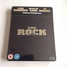 The Rock Blu-Ray Steelbook [U.K.] Play.com Exclusive! Region Free! New & Sealed!